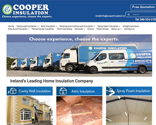 Coopers - Website Design Meath - Dublin