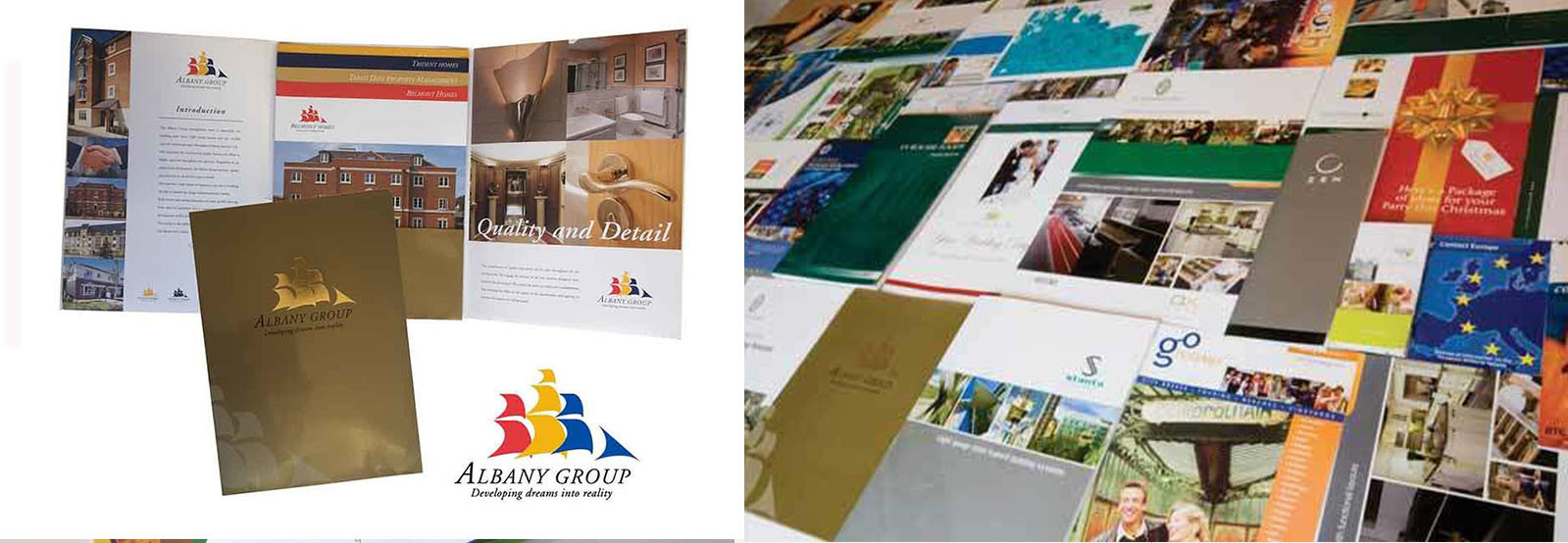 graphic design brochures and flyers