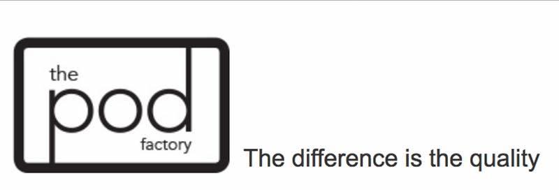 Pod Factory Logo Design Meath
